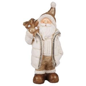 LED Weihnachtsmann Figur, 25,5 x 50 x 18,5 cm