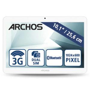 Multimedia-Tablet-PC Access 101 3G • Quad-Core-Prozessor (bis zu 1,3 GHz) • 2 Kameras • microSD™-Slot bis zu 32 GB • mini-SIM • Android™ 7.0