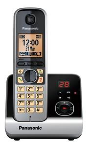 Panasonic schnurloses Dect-Telefon KX-TG 6721 GB schwarz