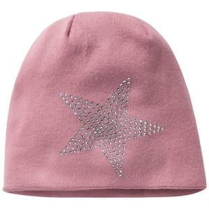 Damen Mütze mit Glitzersteinchen