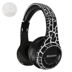 Bluetooth Kopfhörer, Cracked-Look, verschiedene Farben
