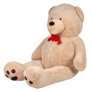 Riesen Teddybär mit Schleife, 3 Meter, beige, XXXL