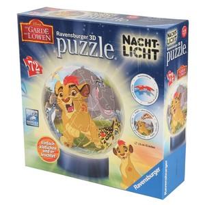 """Ravensburger 3D Nachtlicht-Puzzle, """"Der König der Löwen´´, 72 Teilig"""