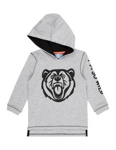 Baby Sweatshirt mit Kapuze und Print