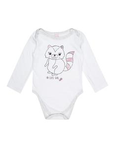 Baby Langarm-Body mit Print