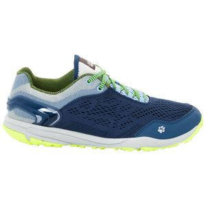 Jack Wolfskin Frauen Trail Running Schuhe Crosstrail Chill Low Women 39,5 blau