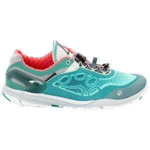 Jack Wolfskin Frauen Trail Running Schuhe Crosstrail Shield Low Women 42,5 pale mint