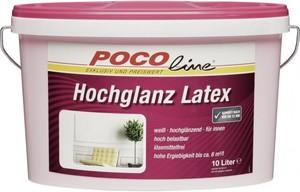 Hochglanzlatex weiß 10 Liter