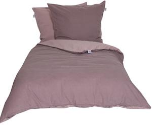 Schöner Wohnen Bettwäsche, Pina-B, 135x200cm, 2-farbig, pastellviolett/rose