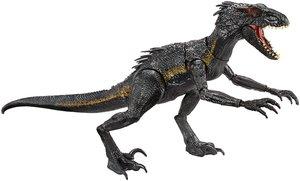 Mattel Jurassic World Indoraptor mit Licht & Sound 43 cm, FLY53