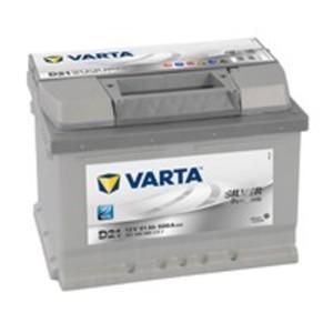 VARTA Silver Dynamic Autobatterie, D21, 61 Ah, 600 A