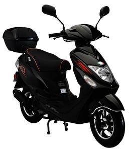 Motorroller NEW JET 50 ccm Euro-4-Norm  45km/h Schwarz