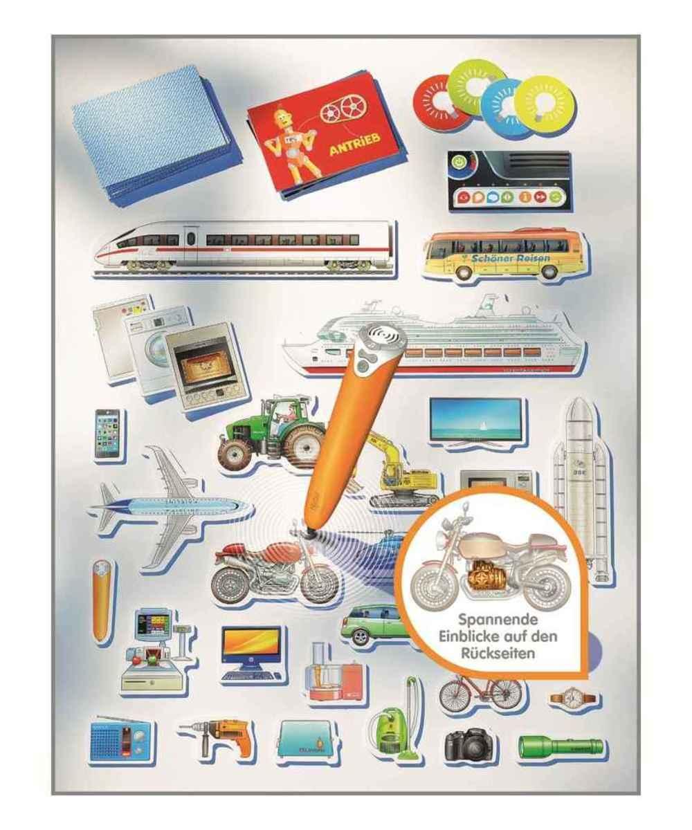 Bild 3 von Ravensburger tiptoi Lernspiel Die Welt der Technik 00837