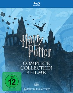 Blu-Ray - Harry Potter Collection (Repack 2018)