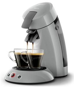 Philips Senseo Kaffeepadmaschine HD 6553/XX Original, Farbe Hellgrau