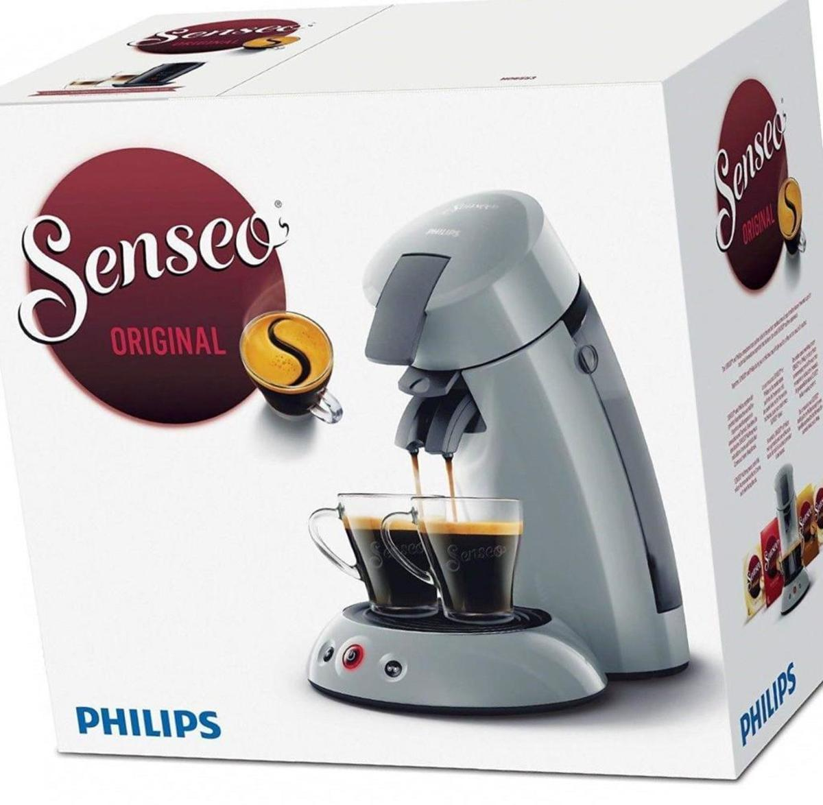 Bild 4 von Philips Senseo Kaffeepadmaschine HD 6553/XX Original, Farbe Hellgrau