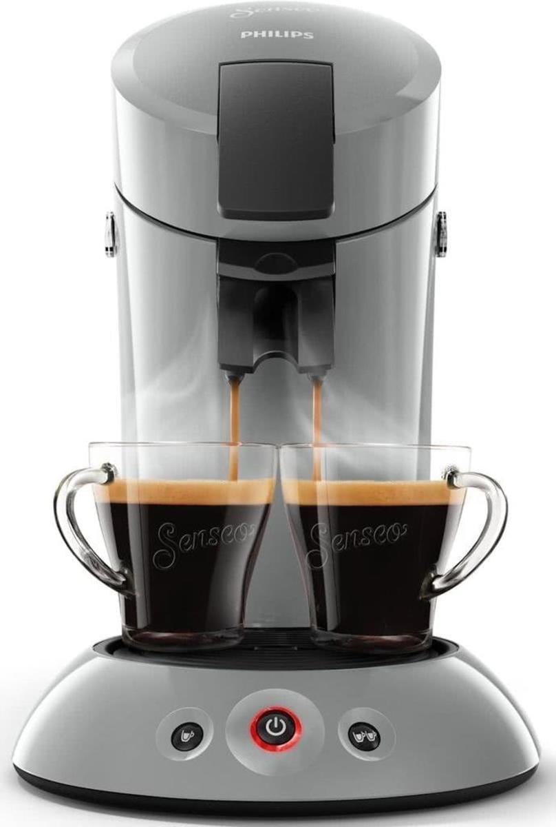 Bild 5 von Philips Senseo Kaffeepadmaschine HD 6553/XX Original, Farbe Hellgrau