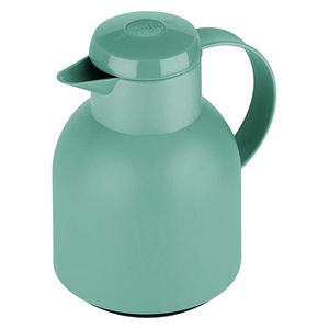 emsa Isolierkanne Samba 1 Liter, Einhandbedienung, Farbe Grün