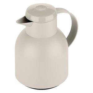 emsa Isolierkanne Samba 1 Liter, Einhandbedienung, Farbe Grau