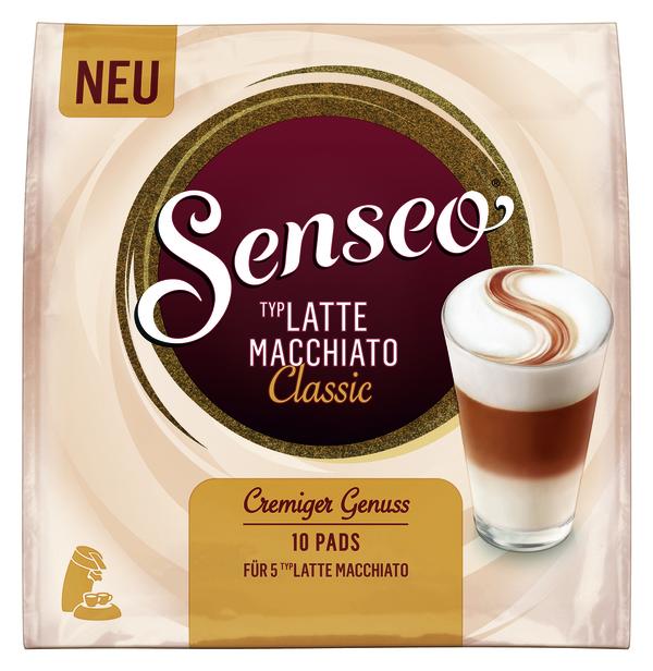 Senseo Typ Latte Macchiato Classic | 10 Pads für 5 Latte Macchiato