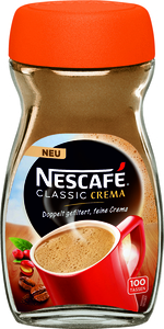 Nescafé Classic Crema | löslicher Kaffee | 200g