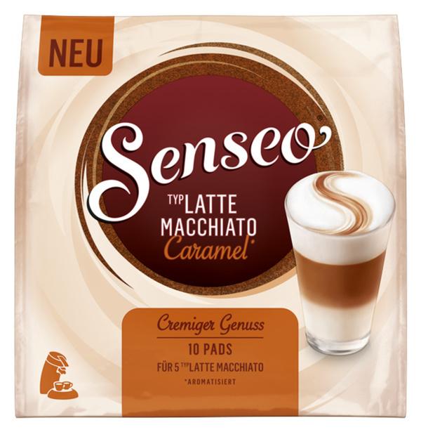 Senseo Typ Latte Macchiato Caramel | 10 Pads für 5 Latte Macchiato