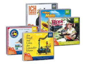 Hörspielbox mit je 3 CDs