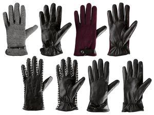 ESMARA® Damen Leder-Handschuhe