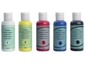 CRELANDO® Basis Acrylfarben