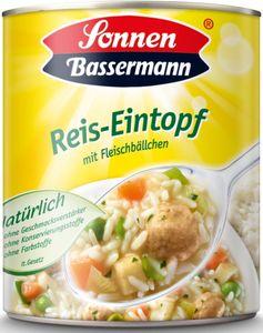 Sonnen Bassermann Reis-Eintopf mit Fleischbällchen