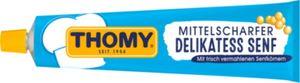 Delikatess Senf mittelscharf Thomy 200 ml