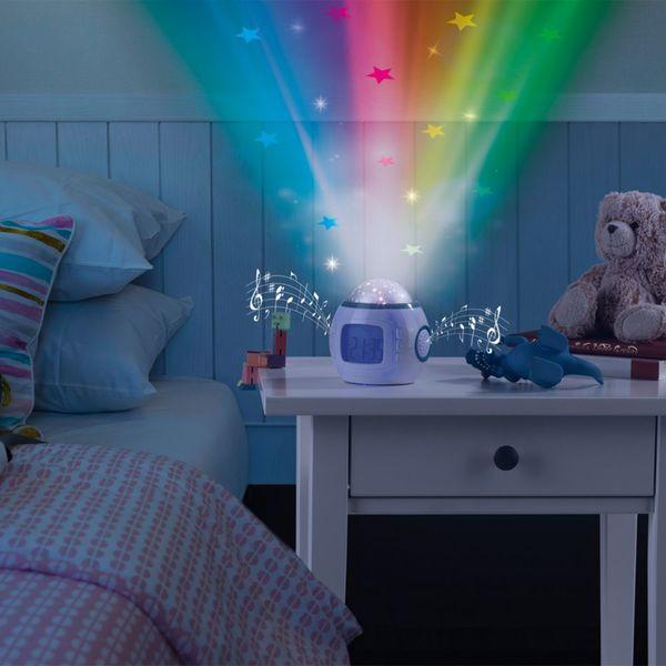 Easymaxx Led Sternenhimmelprojektor 4 5v Weiß Blau Mit Weckfunktion Von Netto Marken Discount Ansehen
