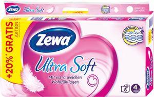 Zewa Toilettenpapier Ultra Soft +20% gratis (8x180 Blatt)
