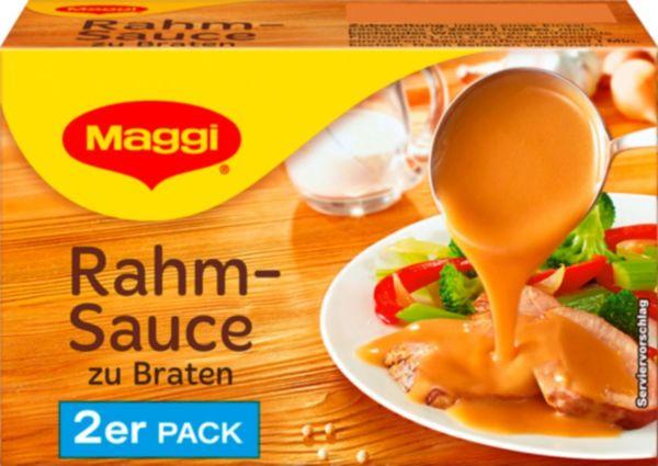 Maggi Delikatess Rahmsauce zum Braten ergibt 2 x 250 ml