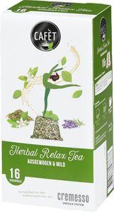Cafèt Herbal Relax Tea 16er