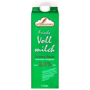 Schwälbchen Frische Milch 3,8 % 1l