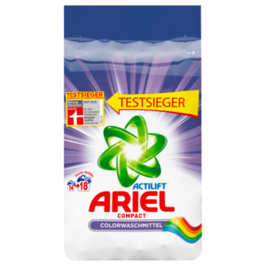 Ariel Colorwaschmittel Compact Pulver Colour & Style 1,35kg, 18WL