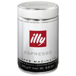 Illy Espresso gemahlen Dark Roasted 250g