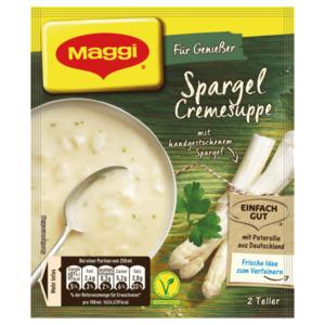 Maggi für Genießer Spargel Cremesuppe, ergibt 500ml