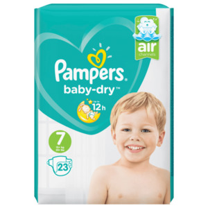 Pampers Baby Dry 7kg 23St.