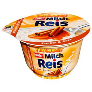 Müller Milchreis heiß Zucker & Zimt 200g