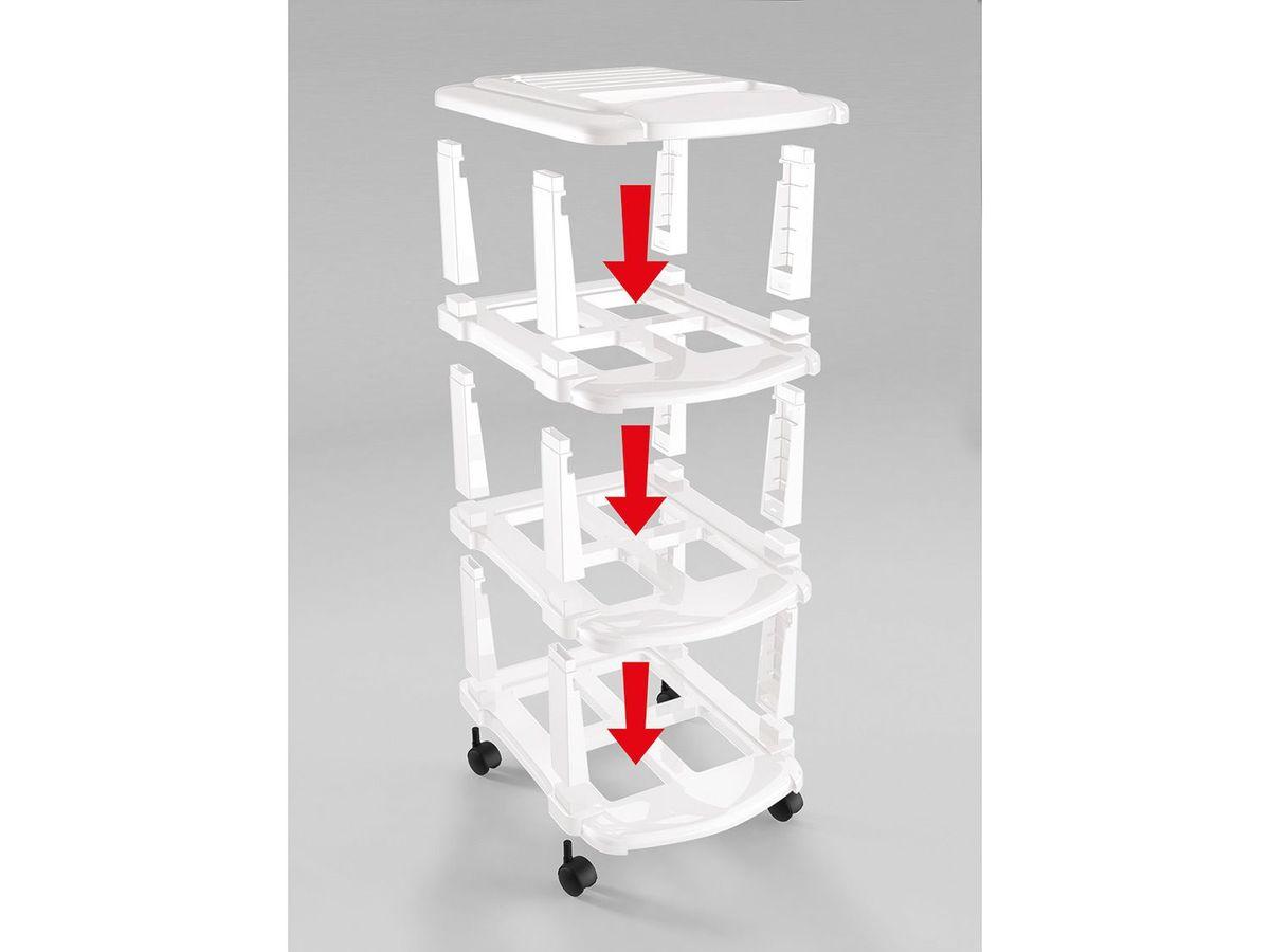 Bild 2 von CASSETTI® Schubladenturm mit 3 Fächern