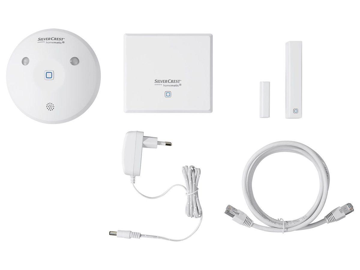 Bild 1 von SILVERCREST® Sicherheit Smart Home-Starterkit HmIP-SK2-B1