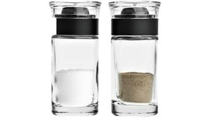 LEONARDO Zubehör GUSTO Set/2 Salz + Pfeffer