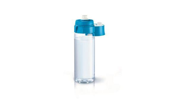 BRITA fill & go Wasserfilter-Flasche Vital blau