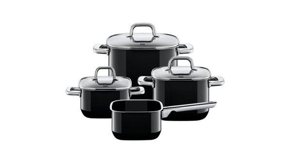 Silit Topf-Set Quadro Black 4tlg