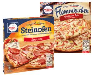 Original Wagner Steinofen Pizza, Pizzies, Flammkuchen oder Piccolinis