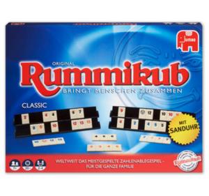 JUMBO Familien-Tischspiel Rummikub CLASSIC