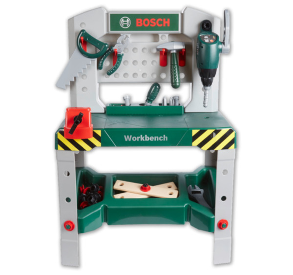 Klein Bosch Mini Kinder Werkbank Von Penny Markt Ansehen