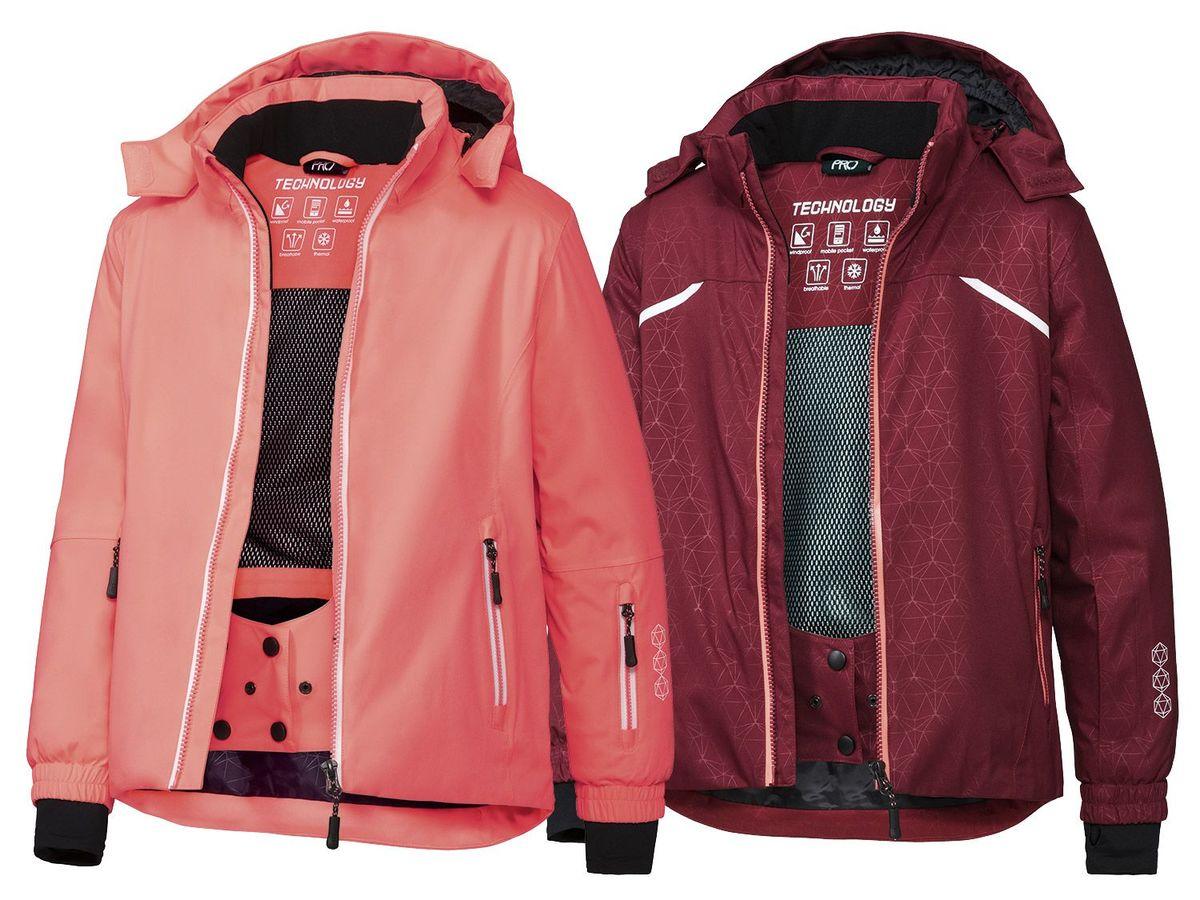 Bild 1 von CRIVIT®PRO Kinder Mädchen Skijacke mit RECCO®-Ortungssystem